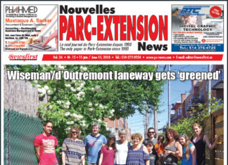 Front Page Image of the Parc Extension News 26-12
