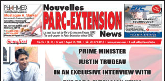 Front Page Image of the Parc Extension News 26-15