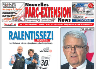 Front Page Image of the Parc Extension News 26-23.