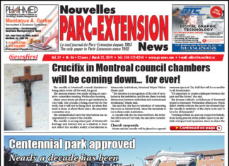 Front Page Image of the Parc Extension News 27-06.