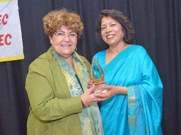 Himalaya Seniors president honoured as 'Citizen of the Year'