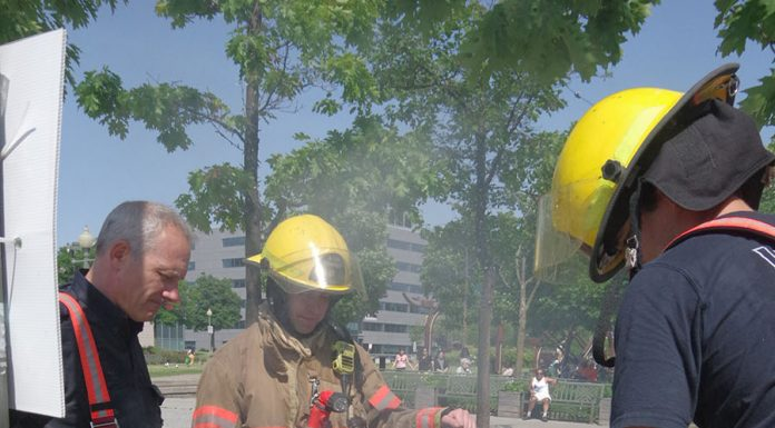 Place de la Gare fire was a call to duty for civic-minded Park Exer