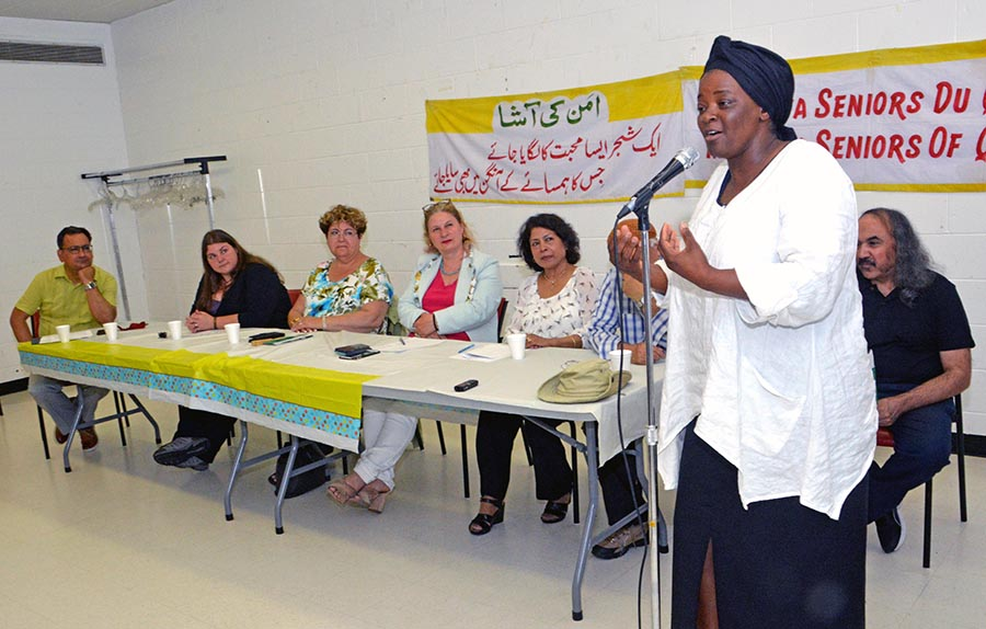 Racism discussed during Himalaya Seniors workshop on discrimination