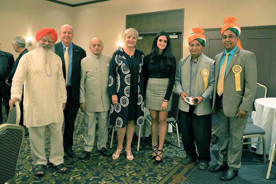 India Canada Association celebrates India's 73rd anniversary