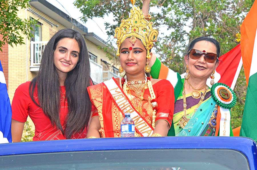 Indian independence celebrated in Park Ex with boisterous parade
