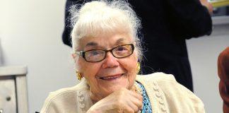 Park Exer Maria Arcudi Simon marks her 100th year