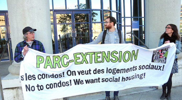 Social housing activists oppose bakery demolition