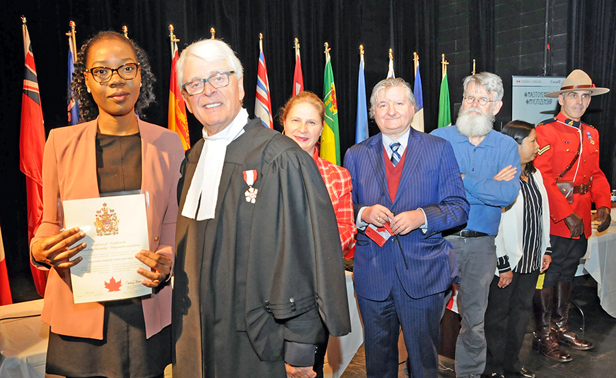One-hundred-fifty new Canadians take citizenship oath