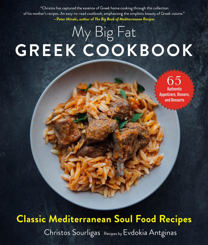 Greek Montrealer launches new book of Hellenic recipes